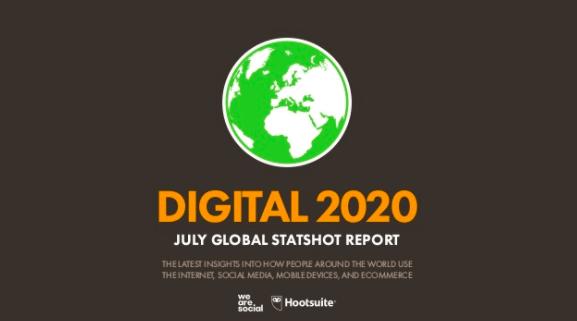 Social media use 2020