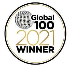 Global 100 Award 2021 Logo